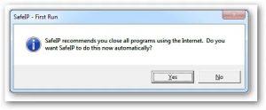 عملية تثبيت البرنامج على الكمبيوتر
